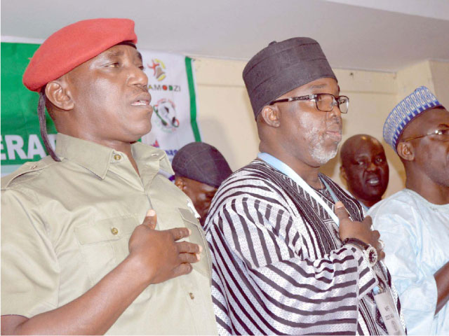 Dalung and Pinnick...challenges and crisis