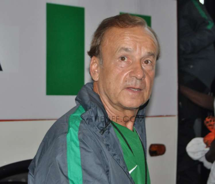 Gernot Rohr...final team takes shape