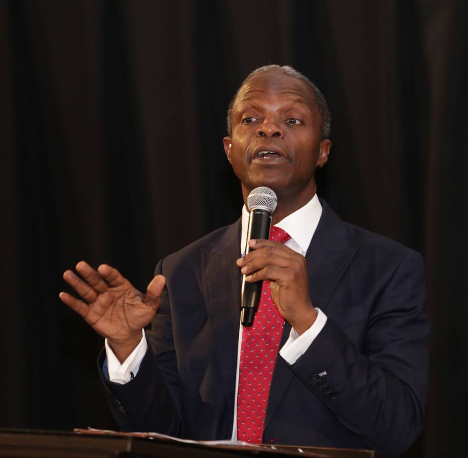 On what terms will Nigeria remain united? ARG asks Osinbajo