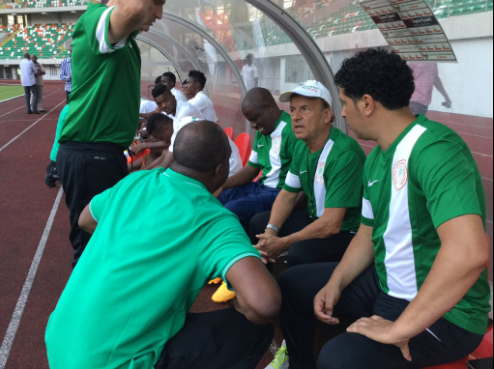 Coach Gerard Rohr...not exceptionally brilliant but paid well with good environment not given to Nigerian coaches