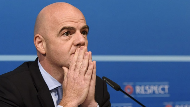 Gianni Infantino FIFA President...Oh my God!