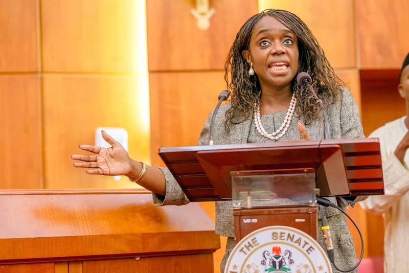 Mrs Kemi Adeosun Nigeria's Finance Minister...on the Paris Club fund