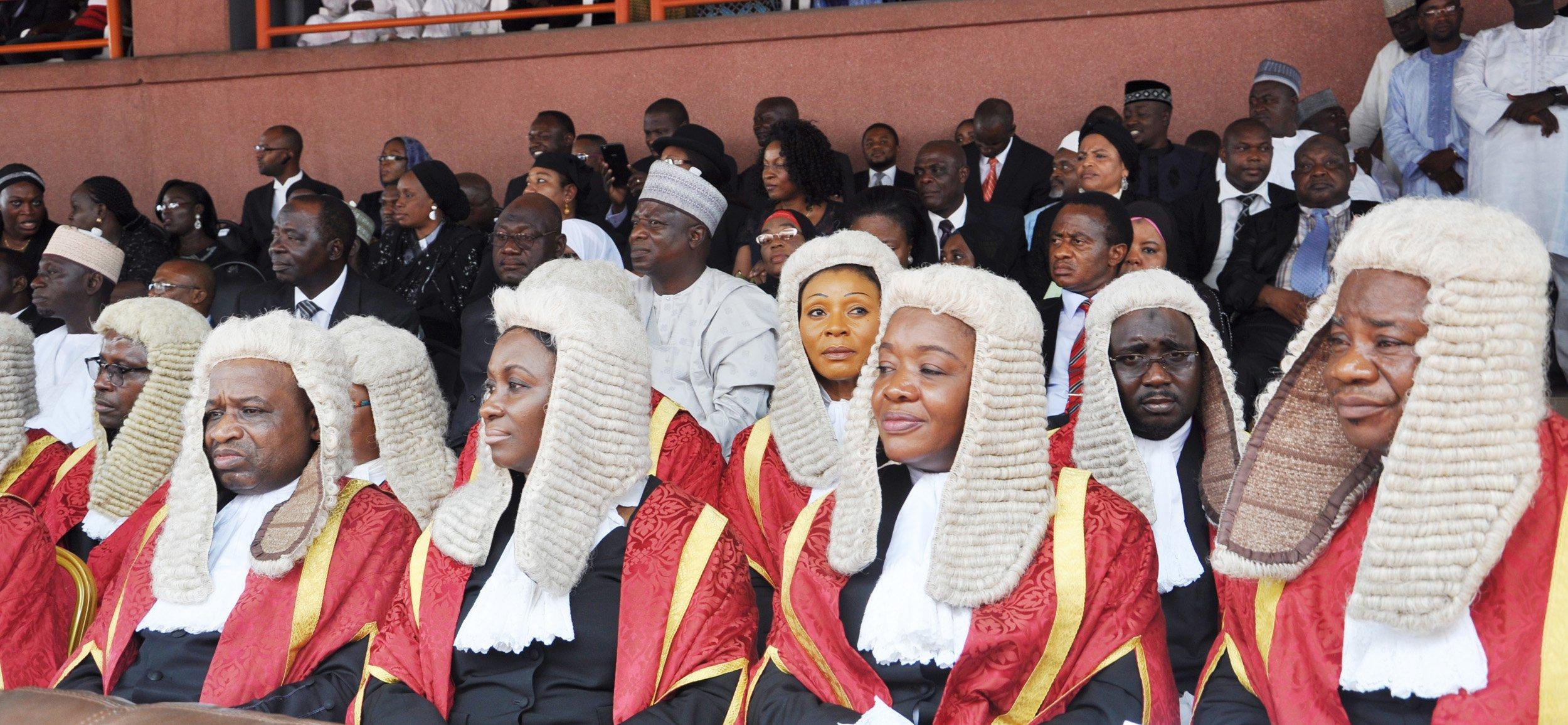 Nigerian judges...Lagos starts new legal year